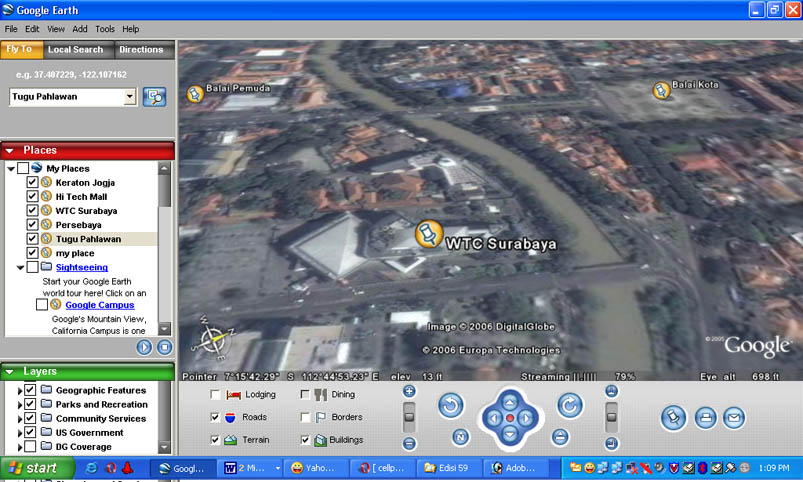 Tracking Google Earth Via Gps Sebuah Catatan